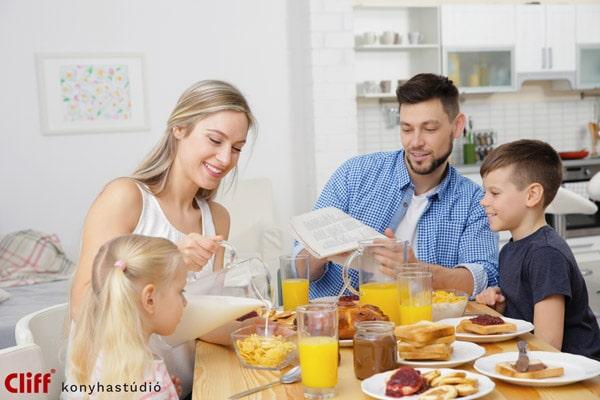Az álomkonyhát a család együtt is tervezheti - Cliff konyhabútor