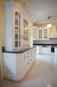 Amerikai konyha - fehér klasszikus konyhabútor - Cliff konyhabútor 10