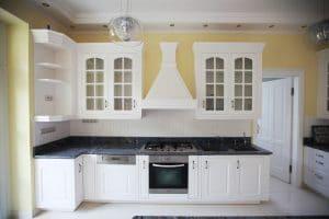 Amerikai konyha - fehér klasszikus konyhabútor - Cliff konyhabútor 5