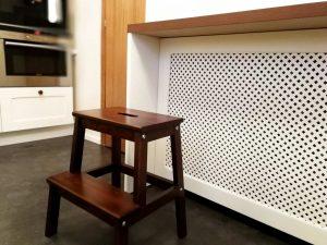 U alakú konyha - sámli - fehér vintage konyha - Cliff konyhabútor 13