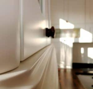 U alakú konyha - fehér vintage konyha - Cliff konyhabútor 6