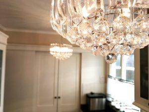 U alakú konyha - fehér vintage konyha világítás - Cliff konyhabútor 5