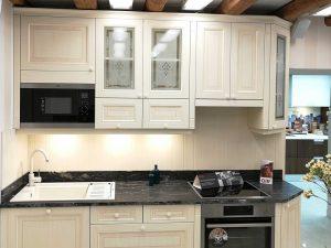 Egysoros konyha - Vintage konyha - Cliff konyhabútor 1