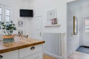 Skandináv konyha - fehér vintage konyha - Cliff konyhabútor 1