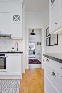 Skandináv konyha - fehér vintage konyha - Cliff konyhabútor 2