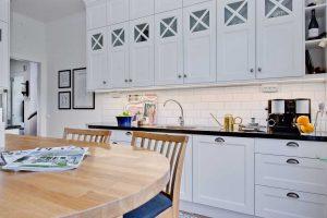Skandináv konyha - fehér vintage konyha - Cliff konyhabútor 3