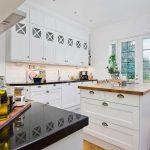 Skandináv konyha - fehér vintage konyha - Cliff konyhabútor 5