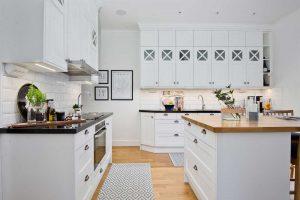 Skandináv konyha - fehér vintage konyha - Cliff konyhabútor 6