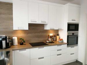 Modern L alakú konyha - fehér Palace konyha - Cliff konyhabútor 32