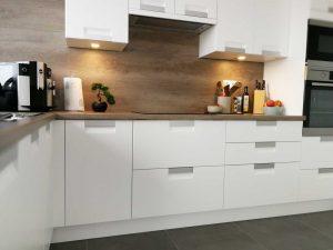 Modern L alakú konyha - fehér Palace konyha - Cliff konyhabútor 6