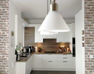 Modern L alakú konyha - fehér Palace konyha - Cliff konyhabútor 12