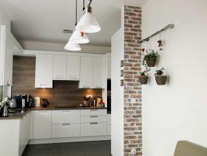 Modern L alakú konyha - fehér Palace konyha - Cliff konyhabútor 1