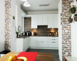 Modern L alakú konyha - fehér Palace konyha - Cliff konyhabútor 3