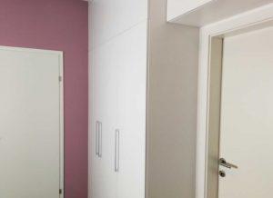 Modern fehér Palace előtér bútor - Cliff konyhabútor 41