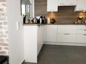 Modern L alakú konyha - fehér Palace konyha - Cliff konyhabútor 15