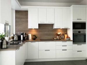 Modern L alakú konyha - fehér Palace konyha - Cliff konyhabútor 33