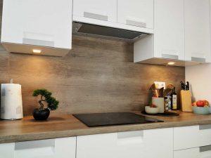 Modern L alakú konyha - fehér Palace konyha - Cliff konyhabútor 5