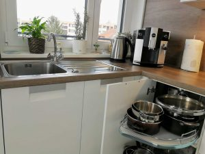 Modern L alakú konyha - fehér Palace konyha - Cliff konyhabútor 19