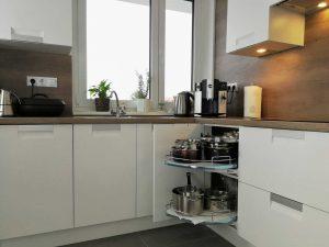 Modern L alakú konyha - fehér Palace konyha - Cliff konyhabútor 20