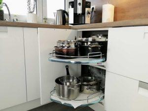 Modern L alakú konyha - fehér Palace konyha - Cliff konyhabútor 21