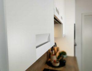 Modern L alakú konyha - fehér Palace konyha - Cliff konyhabútor 27