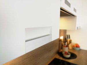 Modern L alakú konyha - fehér Palace konyha - Cliff konyhabútor 28
