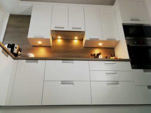 Modern L alakú konyha - fehér Palace konyha - Cliff konyhabútor 2