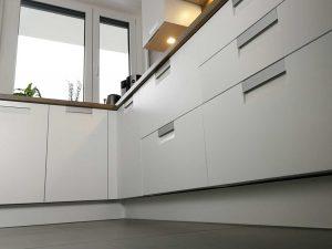 Modern L alakú konyha - fehér Palace konyha - Cliff konyhabútor 36