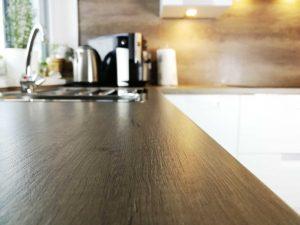 Modern L alakú konyha - barna pult - Palace konyha - Cliff konyhabútor 38