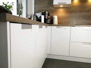 Modern L alakú konyha - fehér Palace konyha - Cliff konyhabútor 39
