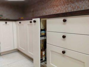 Egyedi konyha - fehér vintage konyha - Cliff konyhabútor 16