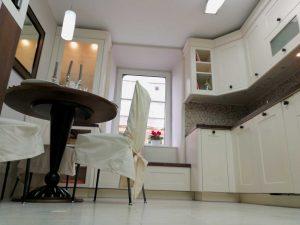 Egyedi konyha - fehér vintage konyha - Cliff konyhabútor 2