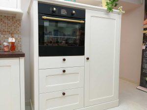 Egyedi konyha - fehér vintage konyha - Cliff konyhabútor 30