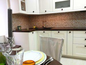 Egyedi konyha - fehér vintage konyha - Cliff konyhabútor 3