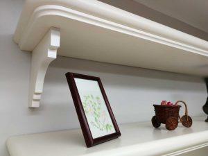 Egyedi konyha - fehér vintage konyha - Cliff konyhabútor 8