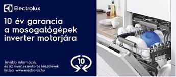 Electrolux mosogatógép kedvezmény 2018