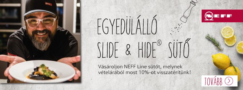Neff konyhagépek slide and hide sütő