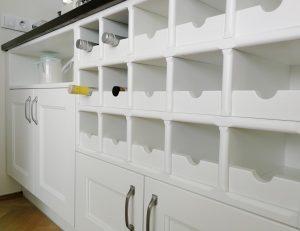 Fehér konyhabútor - vintage konyha képek - Cliff konyhák 5