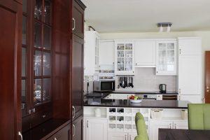 Fehér konyhabútor - vintage konyha képek - Cliff konyhák 25