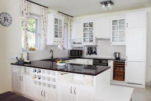 Fehér konyhabútor - vintage konyha képek - Cliff konyhák 1