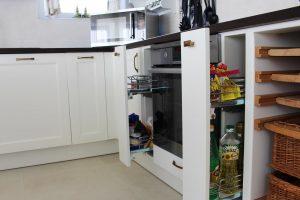 Fehér konyhabútor - vintage konyha képek - Cliff konyhák 7