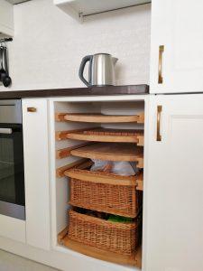 Fehér konyhabútor - vintage konyha képek - Cliff konyhák 8