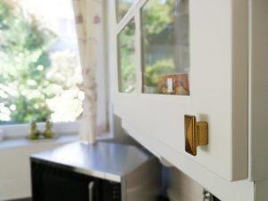 Fehér konyhabútor - vintage konyha képek - Cliff konyhák 14