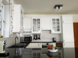 Fehér konyhabútor - vintage konyha képek - Cliff konyhák 10