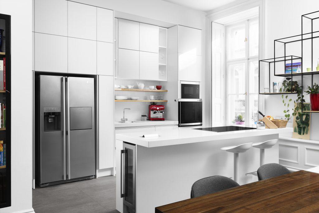 Fehér modern konyhabútor - Cliff konyhák - prémium minőség